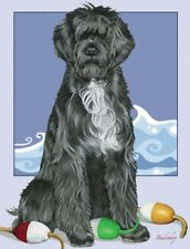 Portuguese Water Dog Blank Note Card
