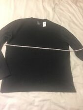 Gap Long Sleeve Crew Neck Sweatshirt, Mens Large