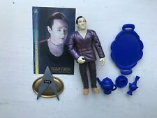 PLAYMATES STAR TREK PROFESSOR DATA ACTION FIGURE ALL GOOD THINGS 1997 SERIES 5
