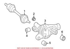 For Mercedes Genuine CV Axle Assembly Left 1663301400