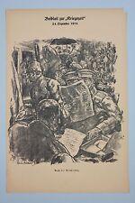 Erich zarraga (1889-1936) - después de la 1.wk relamente litografía