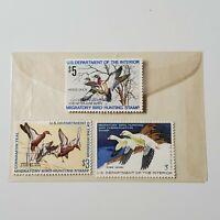 3 1970's Duck Hunting Stamps # RW38, RW41 & RW44