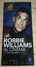 ROBBIE WILLIAMS  Locandina Cinema 33x70 Poster Evento Originale