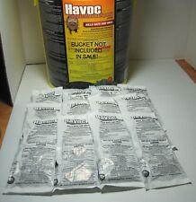 Havoc Rat &Mouse Poison Pellet Packs 12 Packs FREE PRIORITY MAIL! 1.76 oz packs