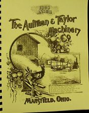 1898  The Aultman And Taylor Machinery Co.Sales catalog Fully Illustrated 36 pgs