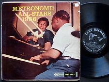 METRONOME ALL-STARS 1956 LP CLEF RECORDS MG C-743 Orig US 1956 DG MONO