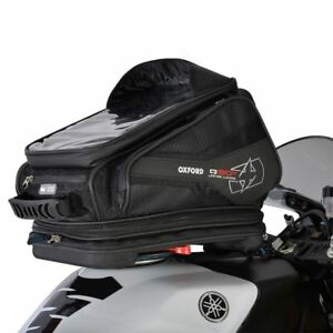 Oxford OL270 Q30R Motorcycle Bike Quick Release Tank Bag Lightweight 30L Black