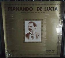 Fernando De Lucia - Serie Celebrità Vol. 12 PhonoThype Record nuovo Sealed