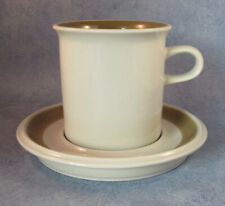 ARABIA OF FINLAND, Vintage, Oliivi Cocoa Cup & Saucer, Excellent