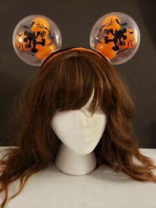 Disney Parks Disneyland 2021 Mickey Mouse Light Up Halloween Balloon Ears
