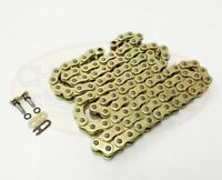Heavy Duty Motorcycle O-Ring Drive Chain 520-118 Gold Yamaha XJ600 XJ6/ABS 09-13
