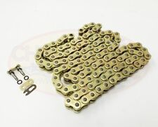 Heavy Duty Motorcycle O-Ring Drive Chain 520-112 Gold Kawasaki Z750 M ABS 07-09