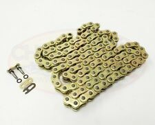 Heavy Duty Motorcycle O-Ring Drive Chain 520-112 Gold Suzuki DR-Z250 01-07