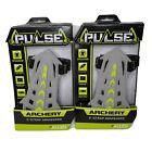 Lot of 2 Allen Pulse  2-Strap Bow Archery Arm guard Grey New
