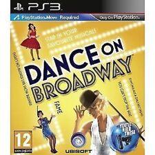 Sony Playstation 3 PS3 jeu UbiSoft DANCE ON BROADWAY Déplacer Nécessaire NEUF