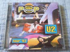 U2 Pop Mart Tour '97 RARE White Rabbit Live & Studio CD Allen Ginsberg EX Cond.