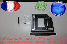 Caddy caja Aluminio SATA 3.0 SSD 9.5mm 2nd HDD para portátil