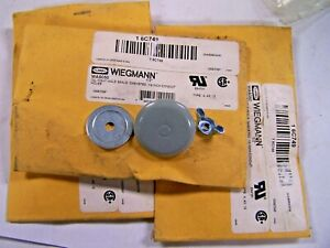 """3) NEW WIEGMANN WAS050 OIL TIGHT HOLE SEAL GASKETED 1/2"""" HOLE SEAL LOT OF 3"""
