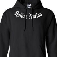 Raider Nation HOODIE Hooded Raiders Las Vegas Sweatshirt Football - All Sizes