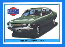 SUPER AUTO - Panini 1977 -Figurina-Sticker n. 145 - NISSAN DATSUN 120 Y -New