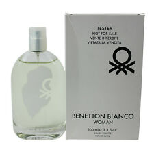 Bianco by Benetton for Women EDT Perfume Spray 3.3 oz.-Tester NEW