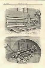 1895 Large Horizontal Boring Machine Soho Foundry