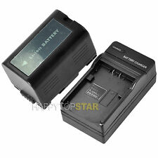 FOR PANASONIC CGR-D16S D32 EX GX DBP8 DV GS series 2200mAh Battery AND CHARGER