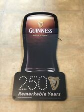Guinness Brewed In Dublin Beer Advertisement Sign