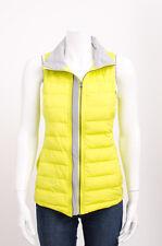 LULULEMON Bright Yellow Fluffed Up Goose Down Puffer Zipper Vest Jacket Coat 4