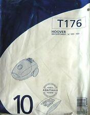 MENALUX T176 - 10 sacs aspirateur HOOVER MICROPOWER SC 100-150