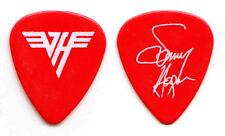 Van Halen Sammy Hagar Signature Red Guitar Pick - 1986 5150 Tour