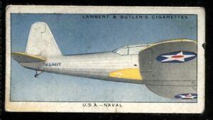 Lambert Butler, AEROPLANE MARKINGS, 1937, USA Naval Air Service, #48