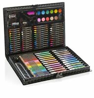 Artworx 118 Piece Art Set For Kids - Junior Artists Colouring  Painting Case