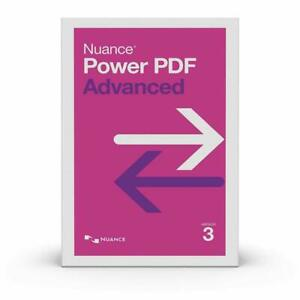 Nuance Power PDF Advanced 3.0 AV09A-G00-3.0 (DOWNLOAD)