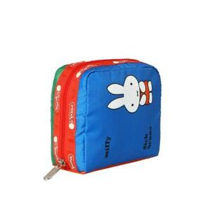 LeSportsac Dick Bruna Collection Medium Book Pouch in Miffy NWT