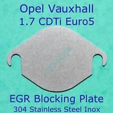 Egr Block Plate Opel Vauxhall Corsa Astra Zafira Miriva 1.7CDTI Euro5 as picture