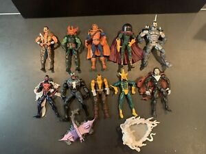 MARVEL LEGENDS TOY BIZ SPIDER-MAN CLASSICS Lot Of 10 Figures