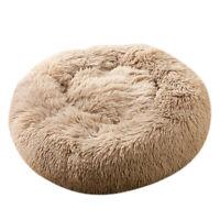 Nid rond de lit apaisant de chat de chien de compagnie pour le sommeil