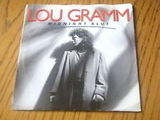 """LOU GRAMM - MIDNIGHT BLUE   7"""" VINYL PS"""