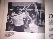 ARNOLD SCHWARZENEGGER BODYSHAPING FOR WOMEN, 1979 BOOK