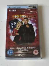 Doctor Who the New Series 1 New UMD for PSP Will Ship Worldwide Region 2!