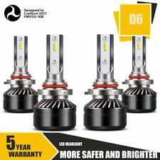 9005+9006 Combo LED Headlight High&Low Beam 6000K White 120W 24000LM Wholesale