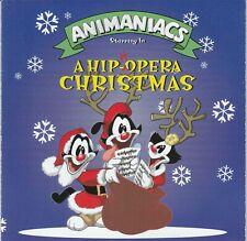ANIMANIACS A Hip-Hopera Christmas CD 1997 RARE! OOP Promo Animated Kid Rhino