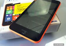 Nokia Mobile Phone Lumia 530 DS, 4GB, Orange, 3G, Glassbruch, NOT OK, LESEN