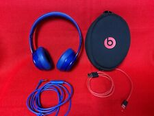 Beats by Dr. Dre Solo2 Headband Headphones - Blue