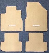 Nissan Murano 2011 2012 2013 2014 TAN Carpet Floor Mat 4-Piece Set OEM NEW