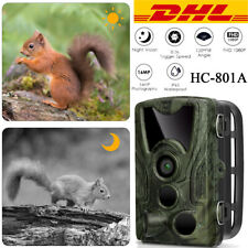 Wildkamera Jagdkamera Überwachungskamera HD1080P 16MP Fotofalle Nachtsicht Kamer
