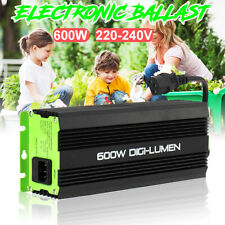 600W Horticulture Electronic Watt Dimmable Digital Grow Light Ballast for MH HPS