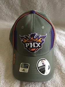 Phoenix Suns Flex Fit Caps by Adidas (NWT) Official NBA Merchandise