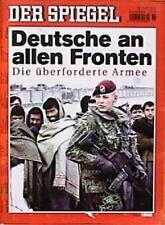 SPIEGEL 11/2002 Die Bundeswehr im Auslandseinsatz